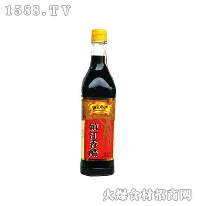 恒庆牌镇江香醋500ml(方瓶)