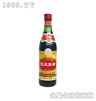 恒庆牌镇江陈醋500ml(螺口瓶)