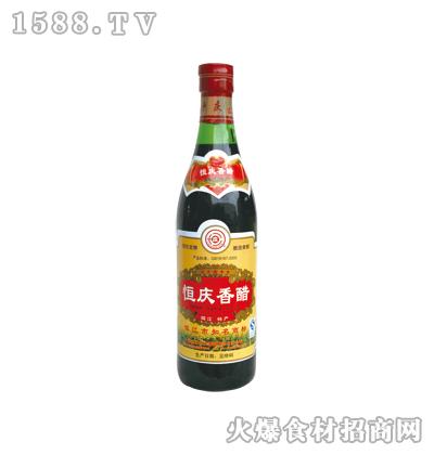 恒庆牌镇江香醋500ml(螺口瓶)