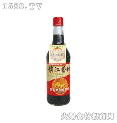 恒庆牌镇江香醋500ml(圆瓶)