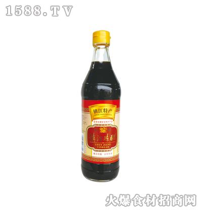 恒庆牌镇江陈醋500ml(麻光瓶)