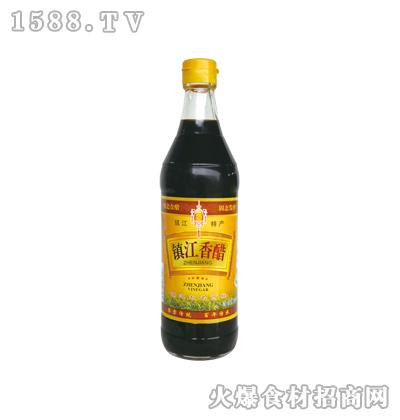 镇江香醋500ml-恒庆牌