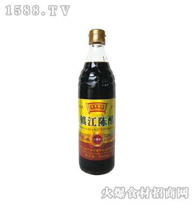 百年恒庆镇江陈醋三年陈580ml