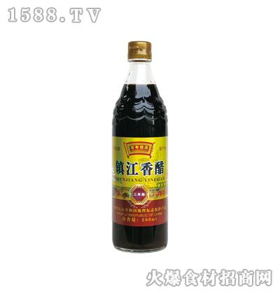 百年恒庆镇江香醋三年陈580ml