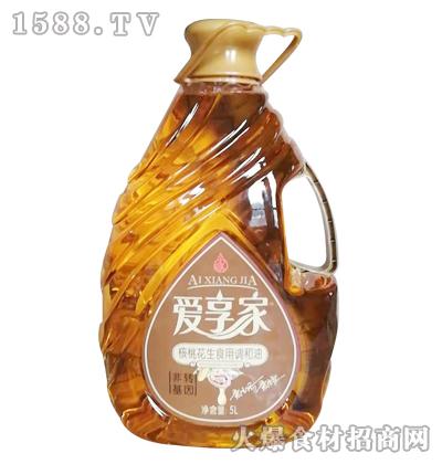 爱享家核桃花生食用调和油5L