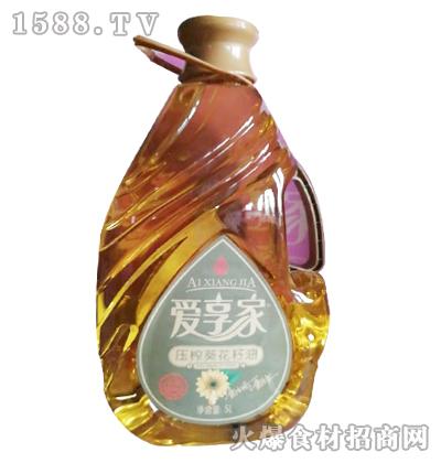 爱享家压榨葵花籽油5L