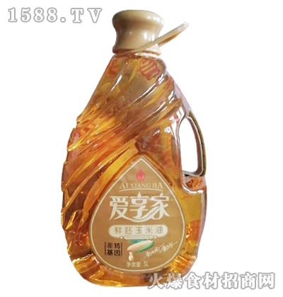 爱享家鲜胚玉米油5L