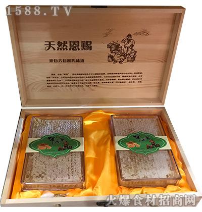 硕沣蜂巢蜜500g