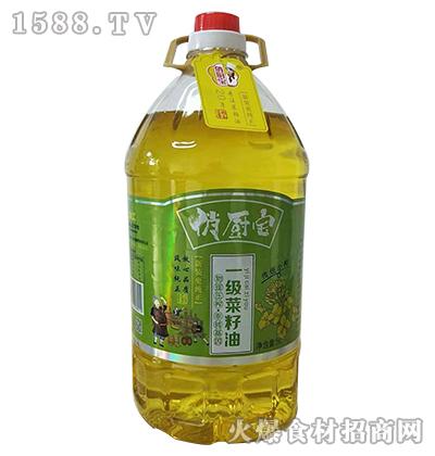 俏厨宝一级菜籽油5L