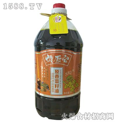 俏厨宝原香菜籽油5L