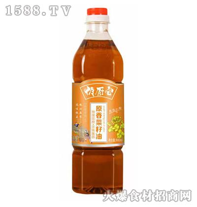 俏厨宝原香菜籽油900ml