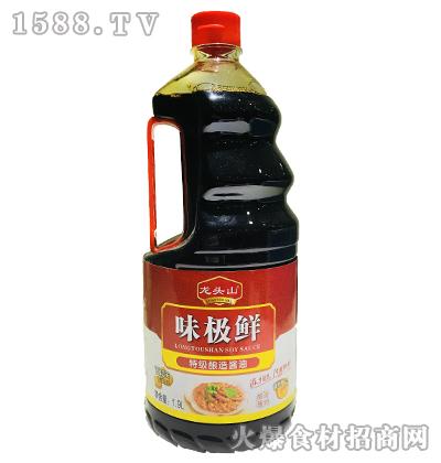 龙头山味极鲜特级酿造酱油-1.9L
