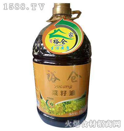 裕仓菜籽油5L