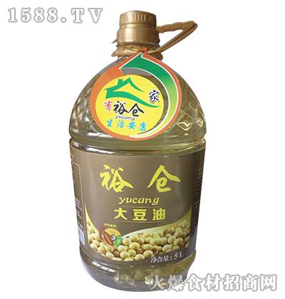 裕仓大豆油5L