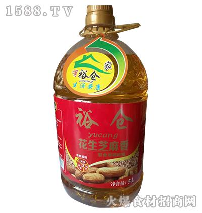 裕仓花生芝麻香型食用调和油5L
