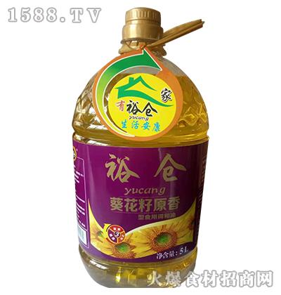 裕仓葵花籽原香型食用调和油5L
