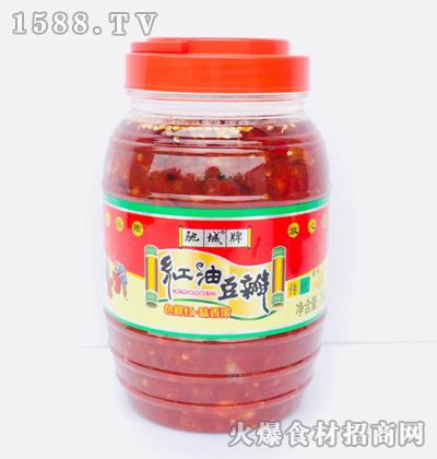 驰城牌红油豆瓣1kg