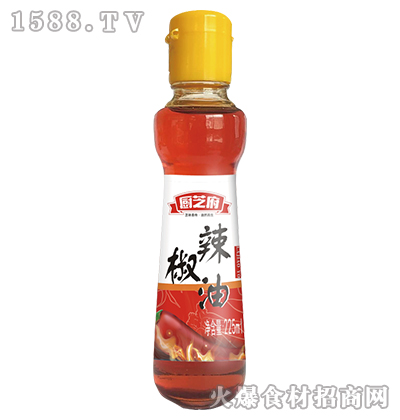 厨芝府辣椒油225ml