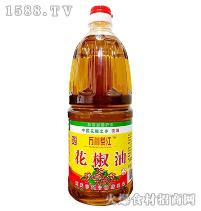 万川藜江花椒油1.8L