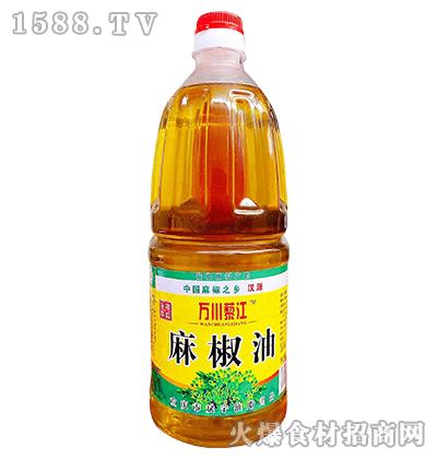 万川藜江麻椒油1.8L