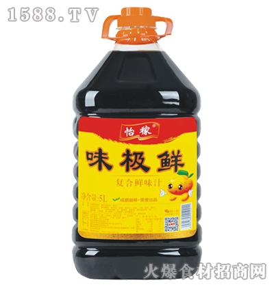 怡稼味极鲜复合鲜味汁5L