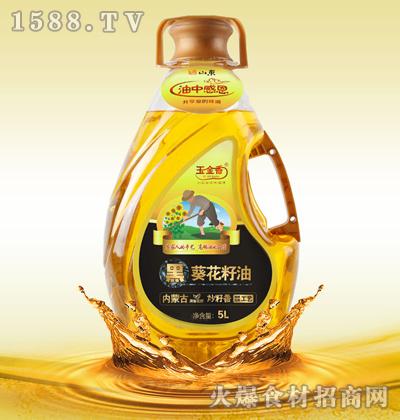 玉金香黑葵花籽油5L
