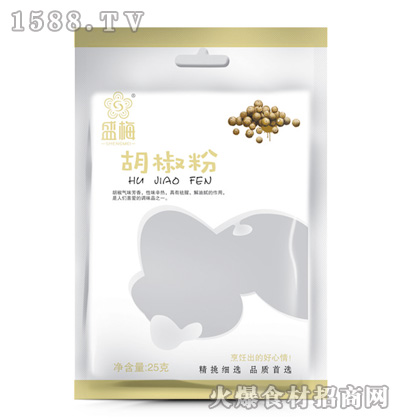 盛梅胡椒粉25g
