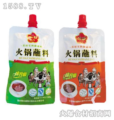 盛梅火锅蘸料香辣(鲜香)140克