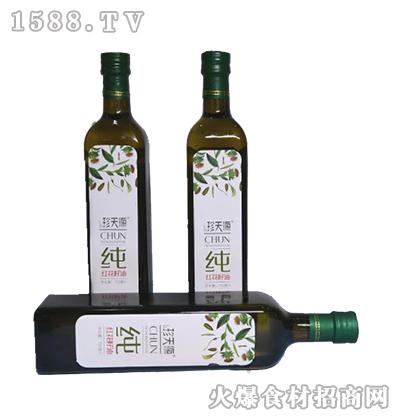 珍天源纯红花籽油750ml