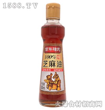 百年褚氏芝麻油305ml