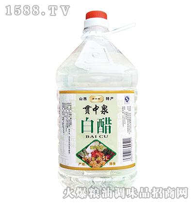 贯中泉白醋4.5L
