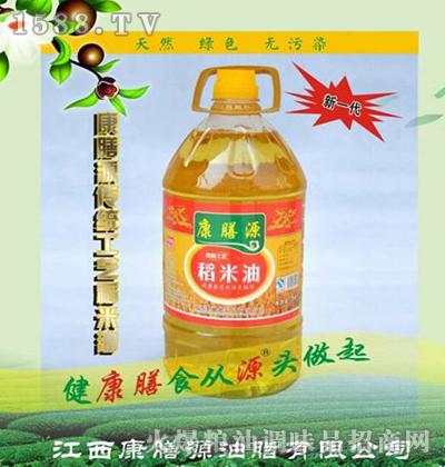 康膳源传统工艺稻米油5L