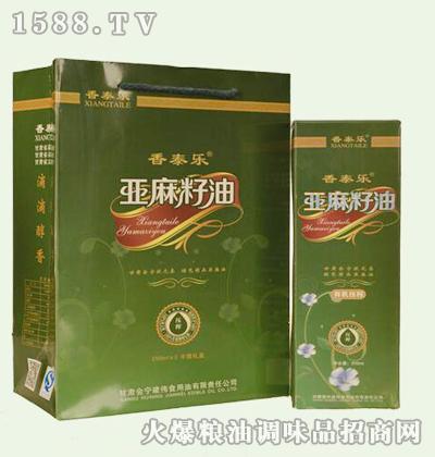 香泰乐亚麻籽油250mlx2