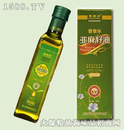 香泰乐亚麻籽油250ml