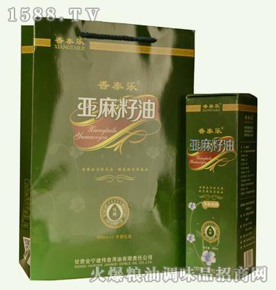 香泰乐亚麻籽油手提礼盒