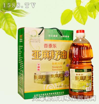 香泰乐亚麻籽油(半精炼)手提礼盒