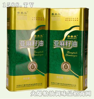香泰乐亚麻籽油1.5Lx2