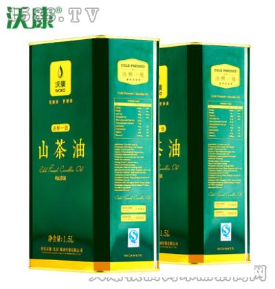沃康山茶油1.5Lx2桶
