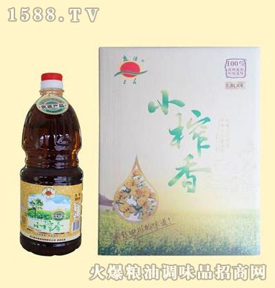 小榨香压榨菜籽油1.8L