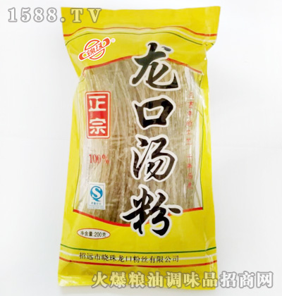 锦珠正宗龙口汤粉200g