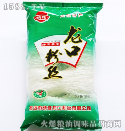 晓珠绿豆精制龙口粉丝180g