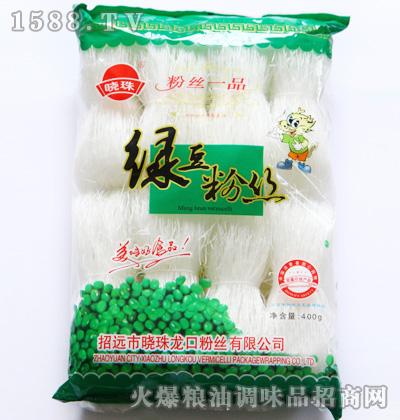 晓珠绿豆粉丝400g