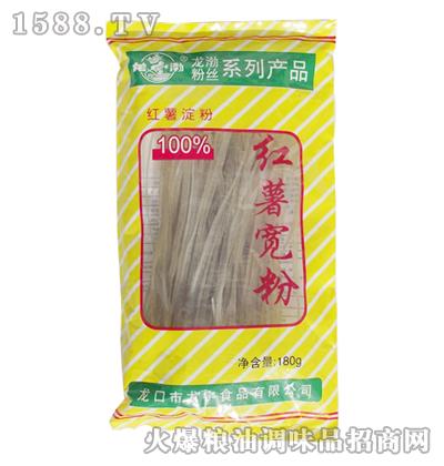 龙渤红薯宽粉180g黄袋