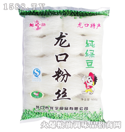 龙渤纯绿豆龙口粉丝500g