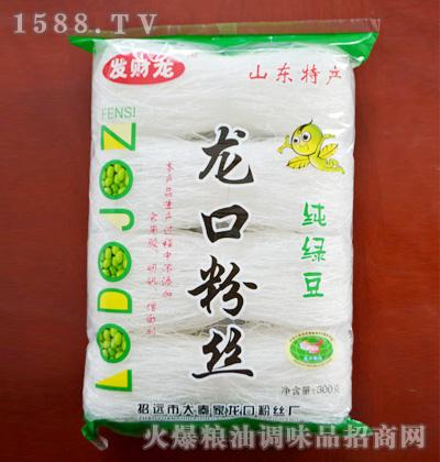 发财龙纯绿豆龙口粉丝300g