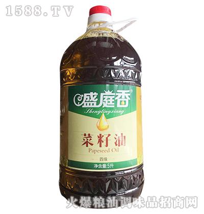 盛庭香四级菜籽油5L
