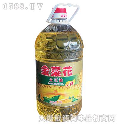 金菜花一级大豆油5L