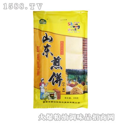 福盈千家山东小米煎饼220g