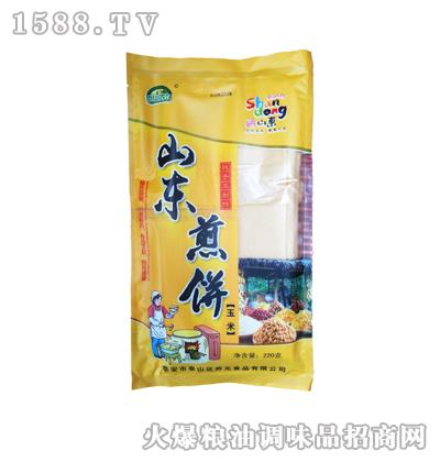 福盈千家山东玉米煎饼220g
