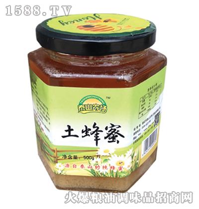 泰山农场土蜂蜜500g